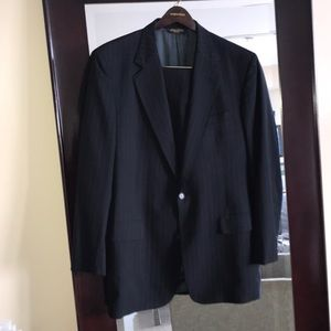 Brooks Borther's Pinstripe Suit well Loved